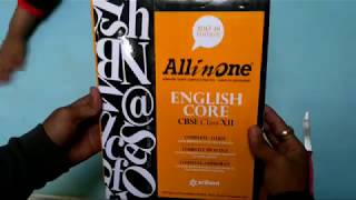 ALL IN ONE ENGLISH CORE CBSE CLASS 12 UNBOXING amp REVIEW