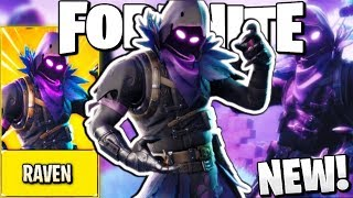 MAKE PLAYERS FEAR YOU IN FORTNITE! - *NEW* Raven Skin - Best Skin in Fortnite
