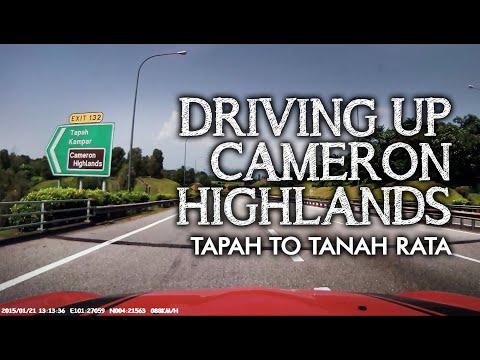 Drive from Tapah to Tanah Rata, Cameron Highlands