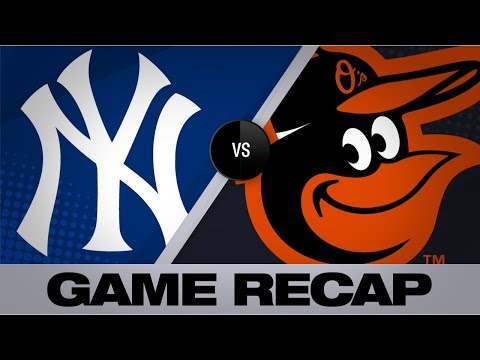 Tauchman, Ford lead Yankees to 9-6 victory   Yankees-Orioles Game Highlights 8/5/19