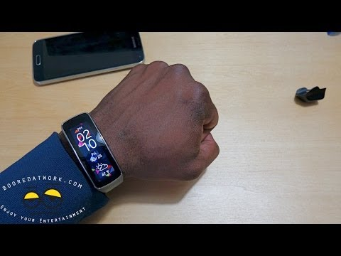 How to setup the Galaxy Gear Fit!!!