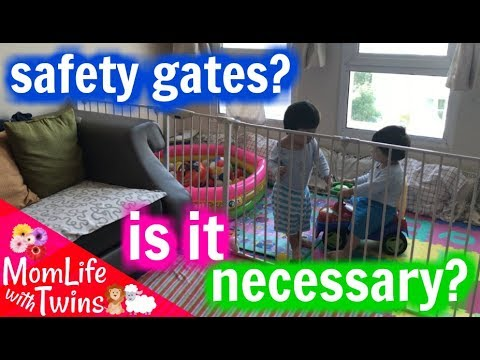 LINDAM PLAYPEN REVIEW ROOM DIVIDER SAFETY GATE YouTube