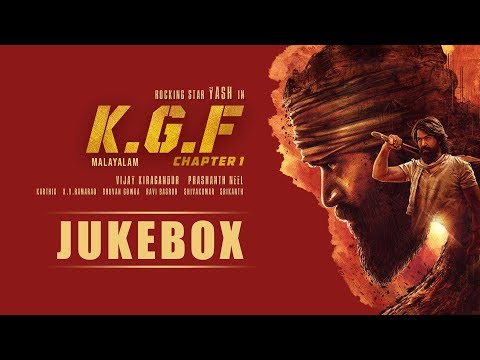 KGF Chapter 1 Malayalam Jukebox | Yash | Prashanth Neel | Ravi Basrur | Hombale Films | Kgf Songs Mp3