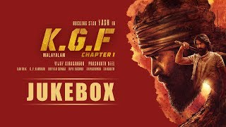 KGF Chapter 1 Malayalam Jukebox | Yash | Prashanth Neel | Ravi Basrur | Hombale Films | Kgf Songs