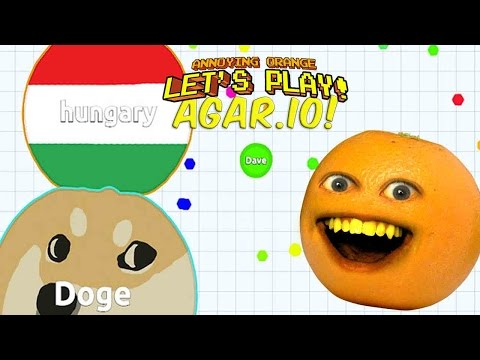 Annoying Orange Plays – AGAR.IO!