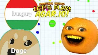 Annoying Orange Plays - AGAR.IO!