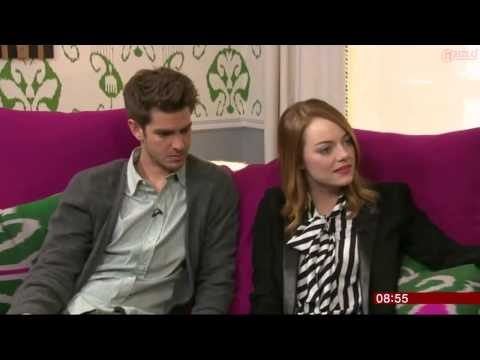 Emma Stone & Andrew Garfield Interview   Breakfast