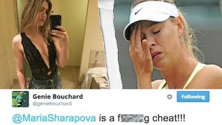 Why Bouchard & Sharapova HATE EACH OTHER!!!