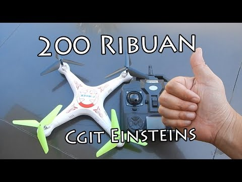 X5SW-1 Drone Murah Gak Jelas 200 Ribuan Aja xD