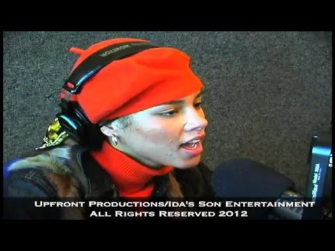 Alicia Keys Singing to Big Boy by filmmaker Keith O'Derek