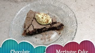 Chocolate Meringue Cake Video Recipe Cheekyricho