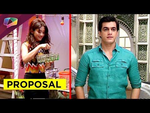 Kartik all set to propose Naira - YouTube