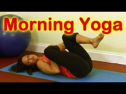 Morning Yoga Workout For Beginners, Wake Up & Stretch How To By Total Wellness Austin