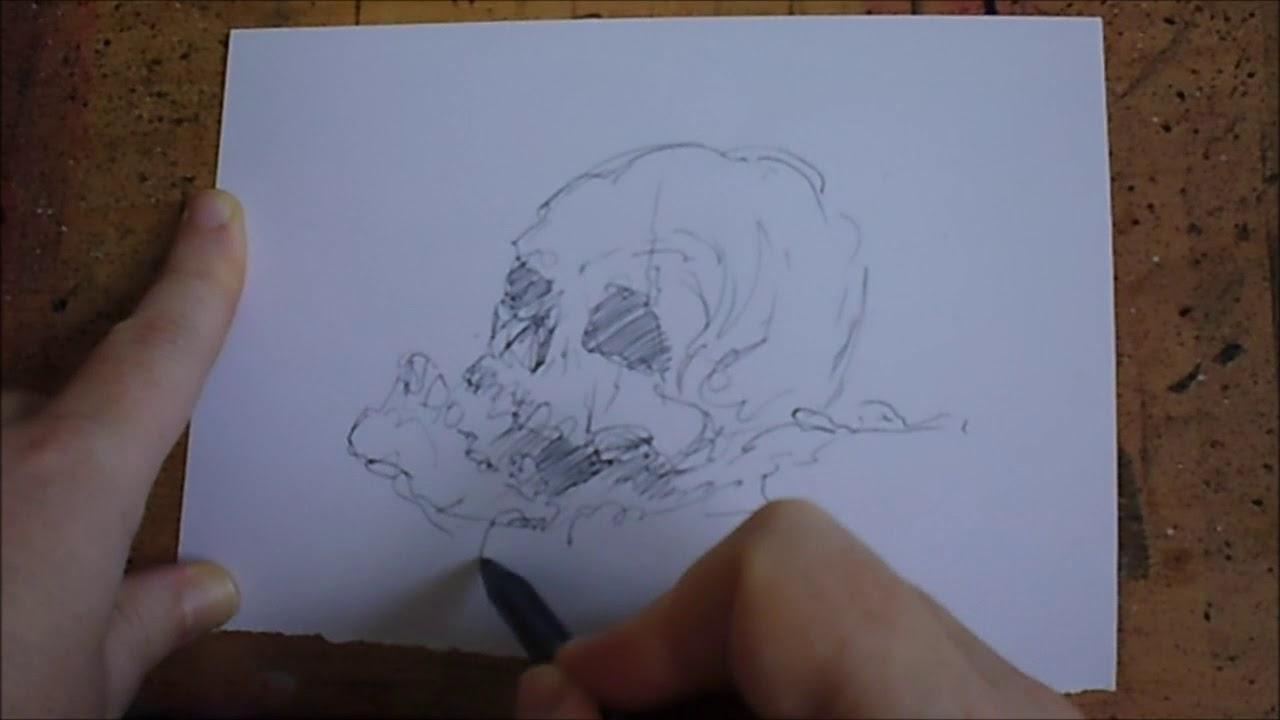 Sketch With Biro Pens Quick Artist Tips #14