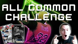 ALL COMMON CHALLENGE!! COMMON SQUAD DROPPING BOMBS!! JABARI!! (MLB The Show 16 Diamond Dynasty)