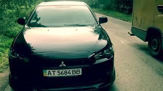 Mitsubishi Lancer х 2008.Драйв в Карпатах.Благоразумно-ли ехать со скорость 180 км/ч