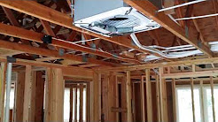 4 Zone Ductless Rough-in for New Construction