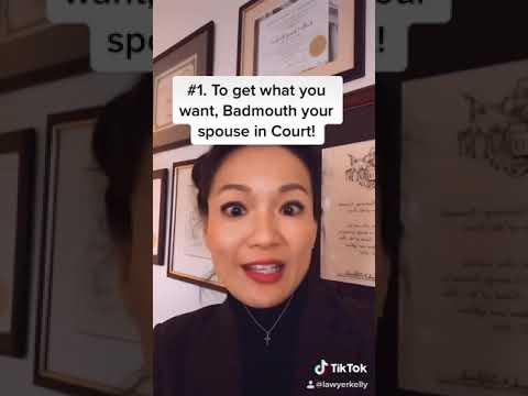 Family court myths.