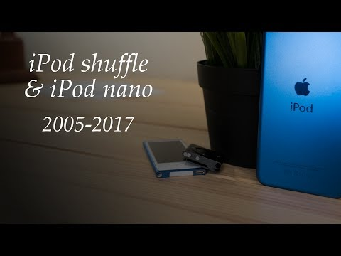 Apple Has Killed the iPod shuffle and the iPod nano