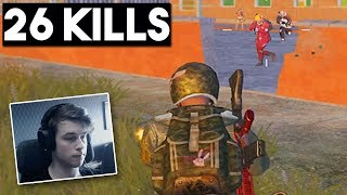 DESTROYING SQUADS + FACECAM | 26 KILLS SOLO vs SQUAD | PUBG Mobile