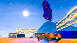 16-Player Sumo Remix Minigame - GTA V Online Funny Moments | JeromeACE