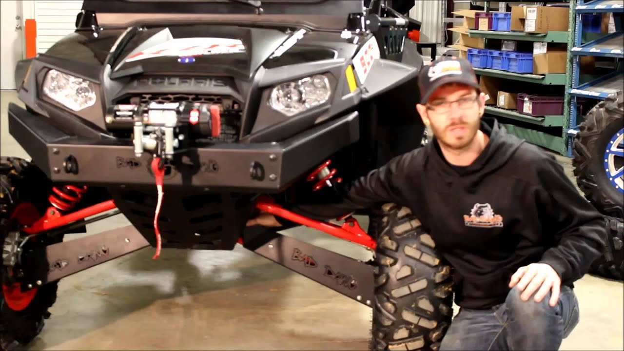 Bad Dawg Accessories Cv Boot Guards For Polaris Rzr Youtube