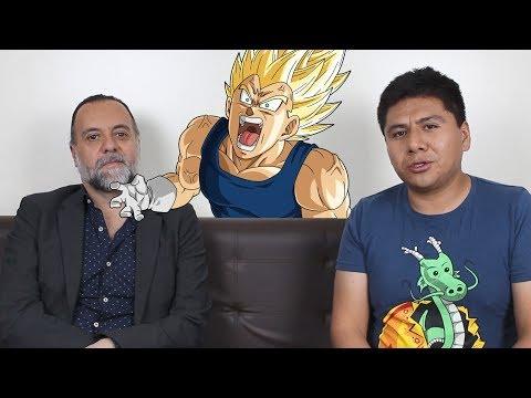 RENÉ GARCÍA - Vegeta Entrevista En Riobamba  TECNOMANIATICO