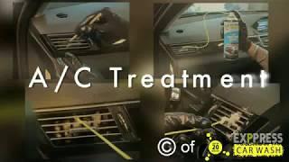 Hoe zorgt u dat uw auto zo koud mogelijk - Auto AC-Behandeling en bescherming door Exppress Auto Wassen
