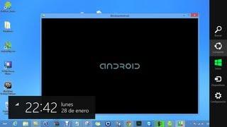 WindowsAndroid: Vive la experiencia de un Smartphone android en su ordenador