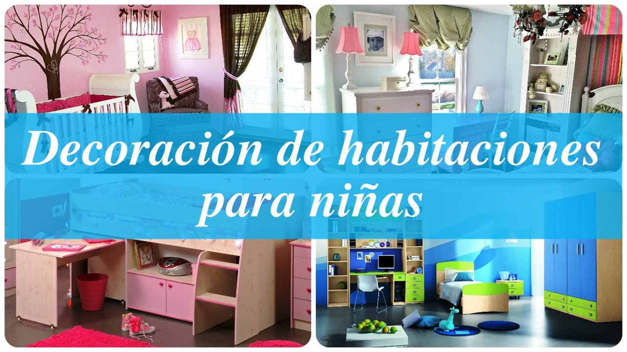 Decoraci n de habitaciones para ni as youtube - Decoracion de habitacion de nina ...