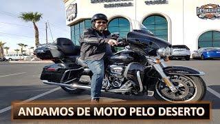 Vlog de Vegas - Passeio de Harley pelo Deserto + Tour do Hotel