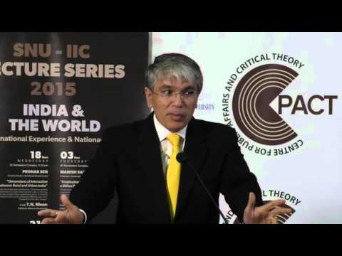 SNU-IIC Lecture Series 2015: Employing and Skilling a Billion People - Full Video