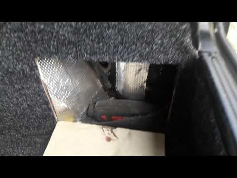 Переделка багажника ваз 2109