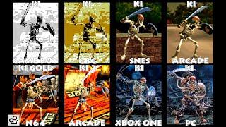 Killer Instinct SPINAL Graphic Evolution 1994-2016   GB GBC SNES N64 ARCADE XBOX ONE PC   PC ULTRA