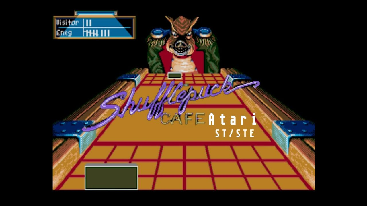 Shufflepuck Café   Atari ST (1989)