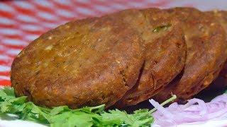 Shami Kabab Recipe - شامی کباب - Beef Shami Kabab Recipe - Home made shami kabab