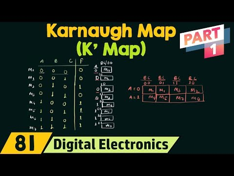 Karnaugh Map (K' Map) Part 1
