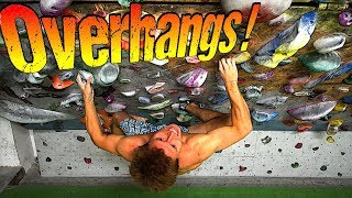 How To Climb Overhangs : Techniques And Skills
