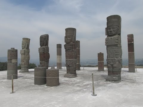 "The Ancient ""Atlantean"" Stone Warriors Of Tula In Mexico"