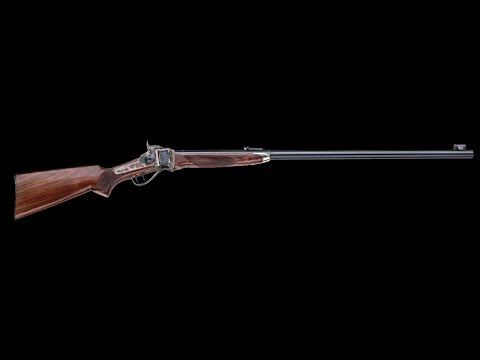 1000 Yards 1874 Sharps Long Range Rifle Pedersoli