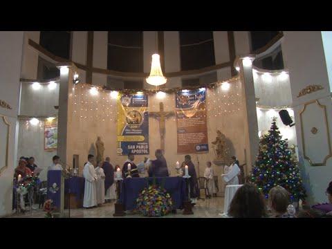 SANTA EUCARISTÍA NOVENA DE NAVIDAD 2019 DÍA 8 Parroquia San Pablo Apóstol