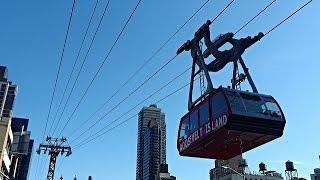 ニューヨーク・ロープウェイからの景色① - Roosevelt Island Tram