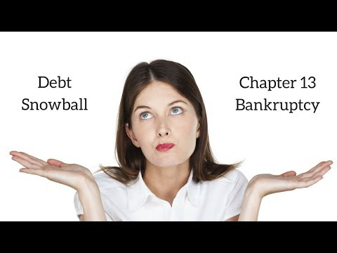 Dave Ramsey's Debt Snowball v. Chapter 13 Bankruptcy