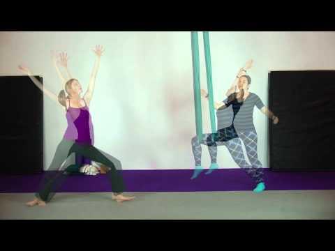 Inside Aerial Fit: Aerial Yoga