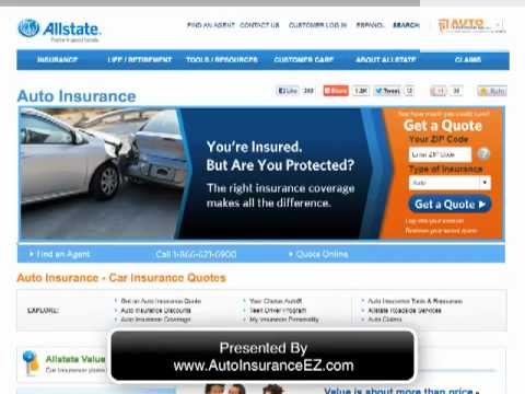 Allstate Car Insurance Company Review & Ratings