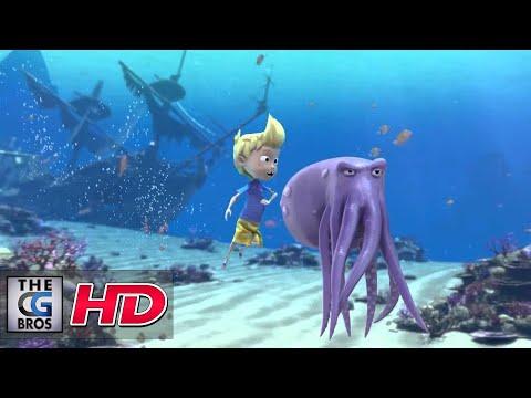 "CGI 3D Animated Short Spot : ""Shark TAG!"" - by Moondog Animation"