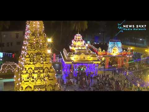 Mangalore Kudroli Gokarnanatha Kshetra lighting..