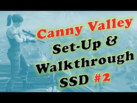 Fortnite Canny Valley SSD 2 Set Up