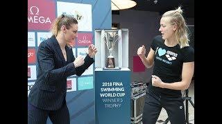 Hosszú Katinka és Sarah Sjöström lebokszolja egymás között a vk-elsőséget