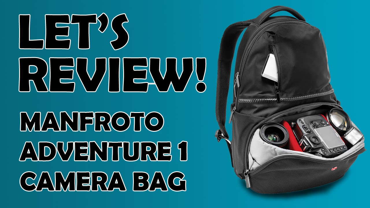1d0de939cefc Let s Review! Manfroto Adventure 1 Camera BackPack - YouTube